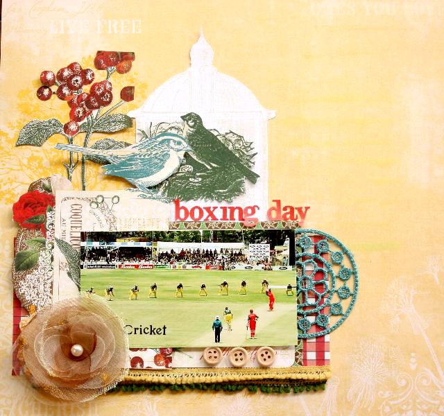 Boxing day Cricket