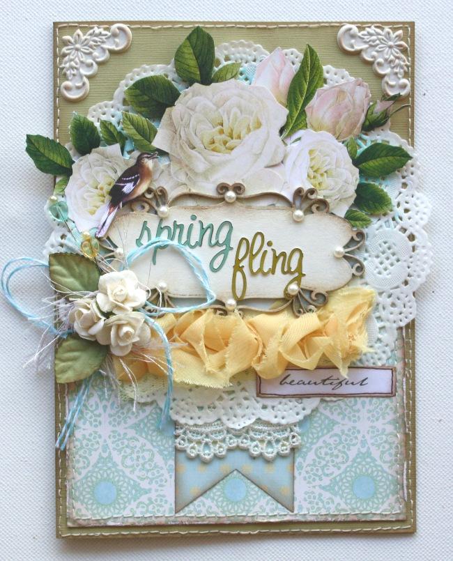 Spring Fling card