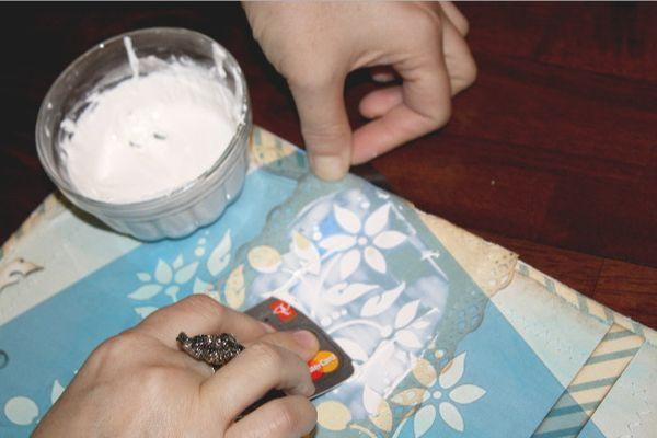 Сделать текстурную пасту своими руками