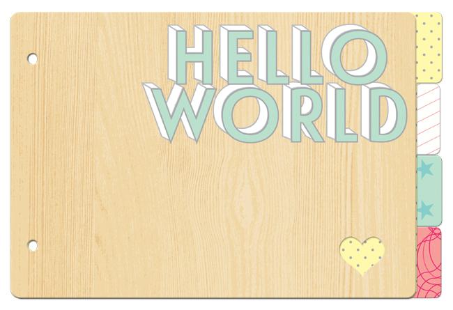 MINB02_650_allison_kreft_websters_pages_chipboard_mini_book_album_hello_world
