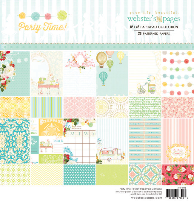 650_PP1220_party_time_12x12_paper_pad_websters_pages
