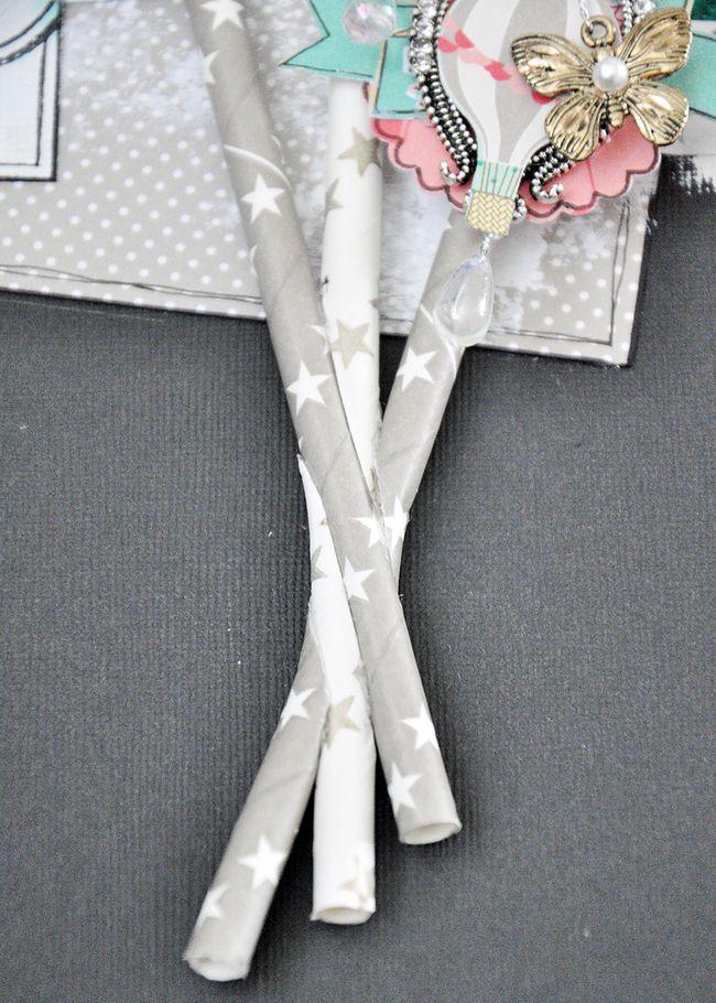 Layered-straws